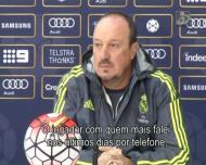 Benitez a dizer que Casillas tem de deixar de ser assunto
