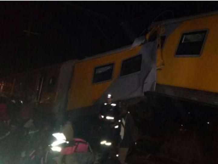 Acidente de comboio na África do Sul (Twitter)