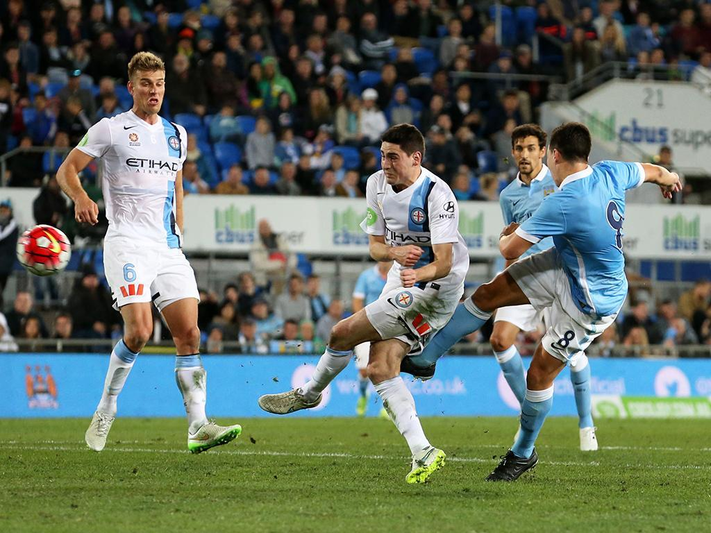 Melbourne City-Manchester City (Reuters)