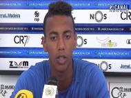 Jhonder Cádiz avançado do União da Madeira preparado para o desafio
