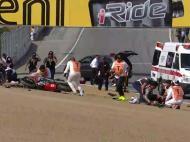 Tragédia em corrida de apoio ao Mundial de superbikes