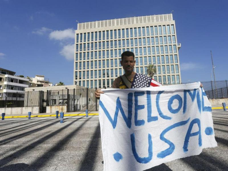 EUA/CUBA: embaixadas reabriram [Reuters]