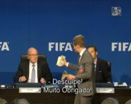Visitante improvável oferece dinheiro a Blatter para levar o Mundial para a Coreia do Norte
