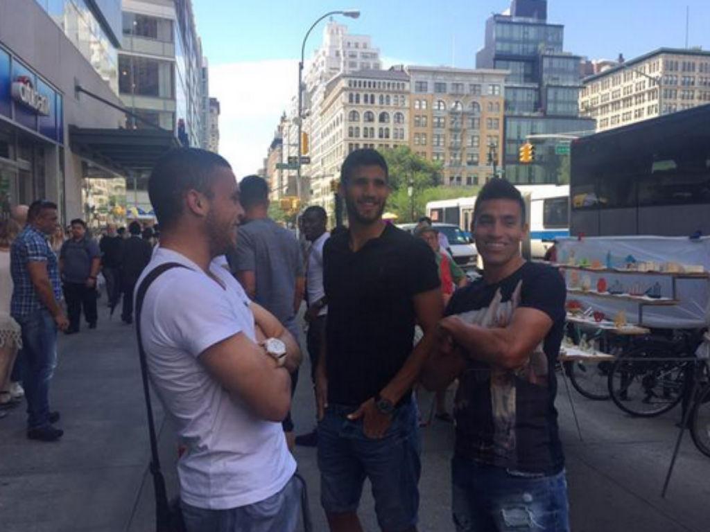 Jogadores do Benfica foram passear a Nova Iorque