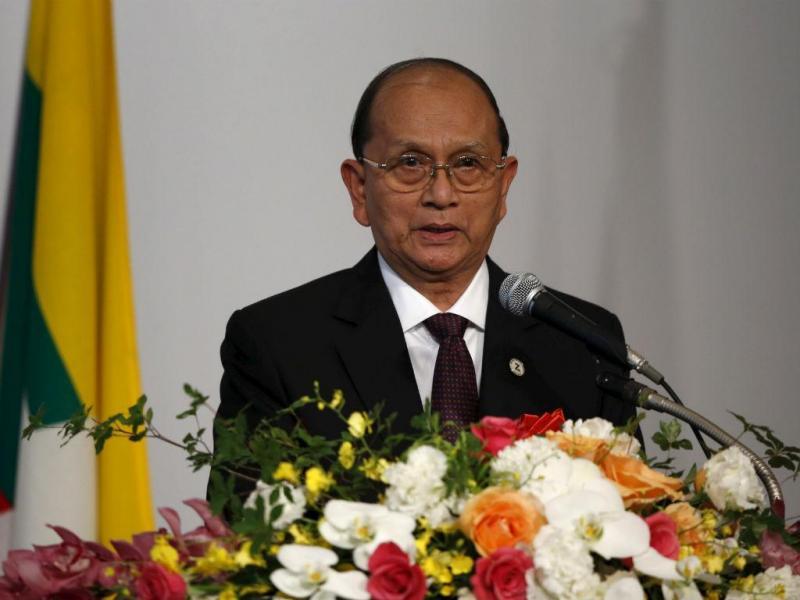 Thein Sein, Presidente da Birmânia