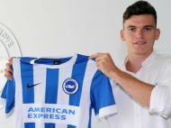 Jack Harper (twitter do Brighton & Hove Albion)