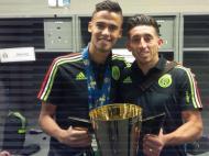 Hector Herrera e Diego Reyes