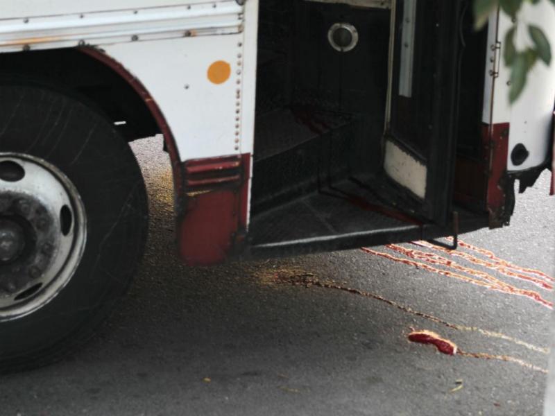 Motoristas assassinados em El Salvador (REUTERS)