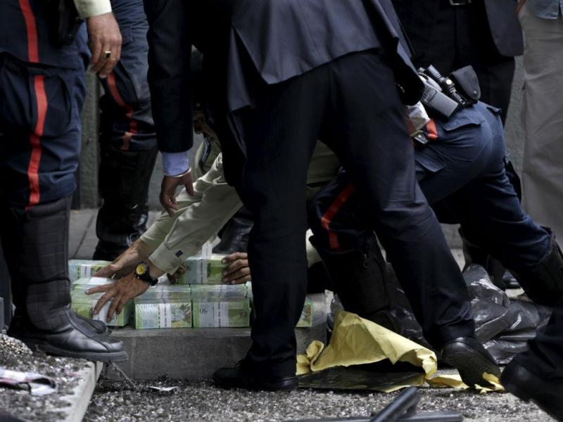 Polícia venezuelana (REUTERS)