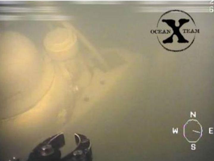 Submarino descoberto em águas suecas (Reprodução Vídeo)