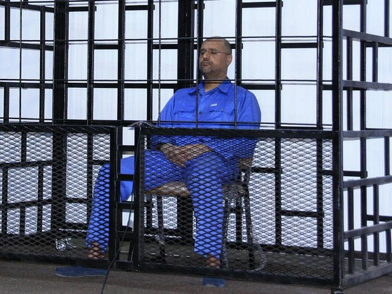 Saif al-Islam Khadafi (REUTERS)