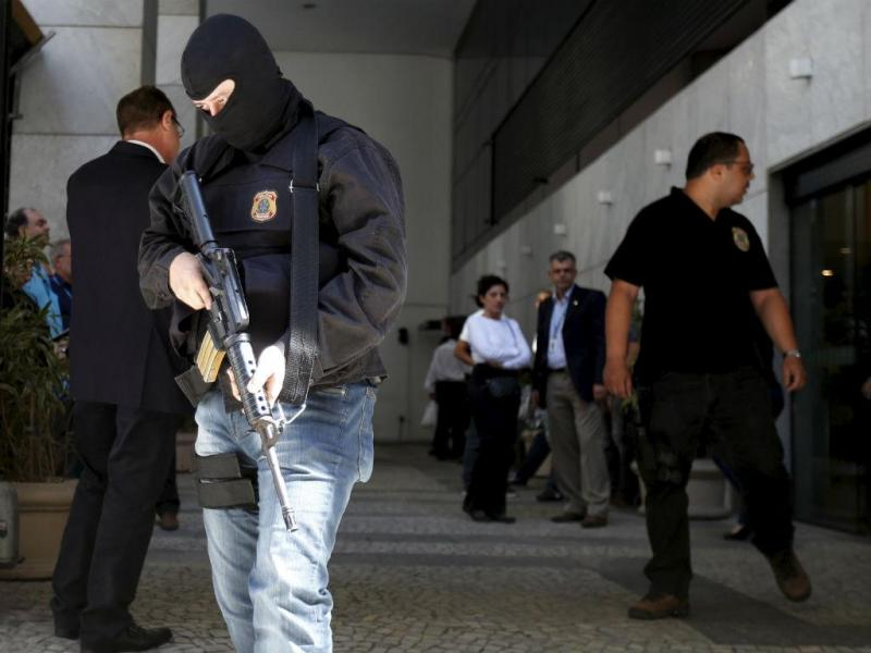 Polícia Federal brasileira em ação (Reuters)