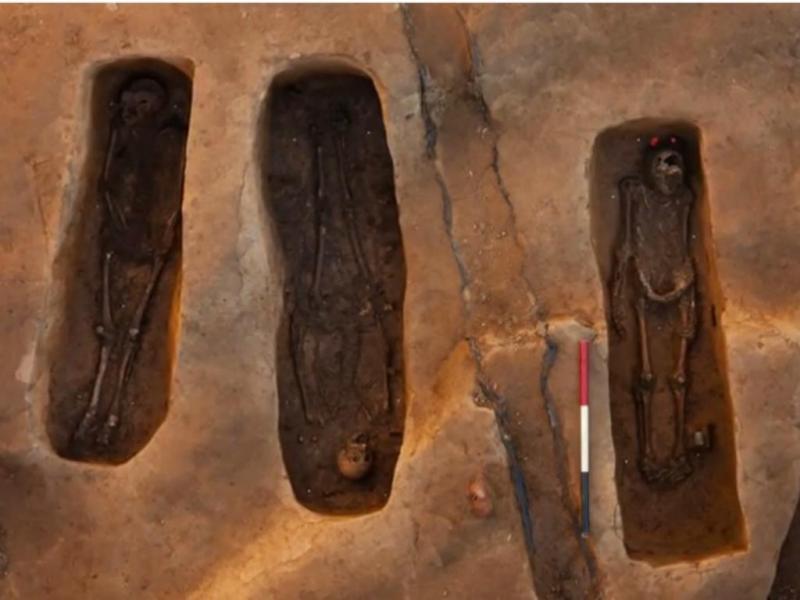 Descobertos restos mortais de primeiros colonos ingleses na América