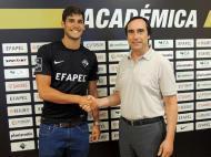 Académica recebe Gonçalo Paciência por empréstimo do FC Porto