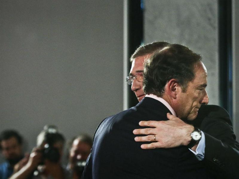 Coligação Portugal à Frente apresenta programa eleitoral (MÁRIO CRUZ/LUSA)