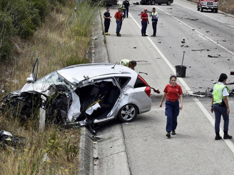 Mulher morre em acidente no IC2 (Lusa)