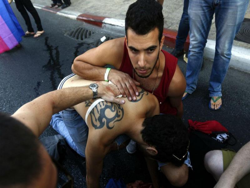 Homem esfaqueou participantes da marcha do orgulho gay de Jerusalém [Foto: Lusa]