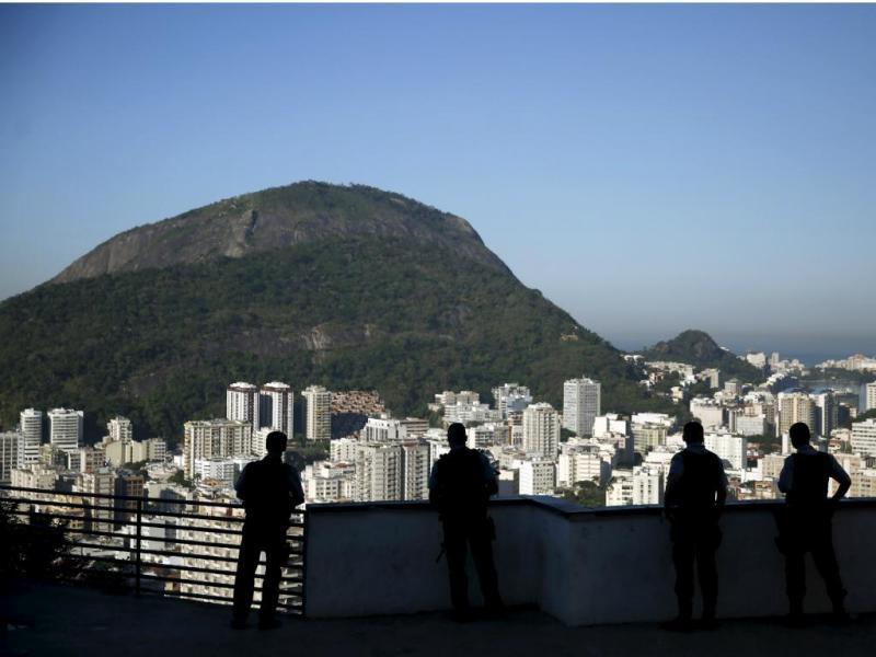 Polícia no Rio de Janeiro [Reuters]