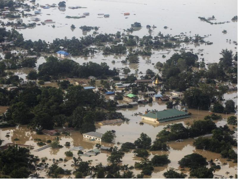 Inundações na Birmânia [Reuters]
