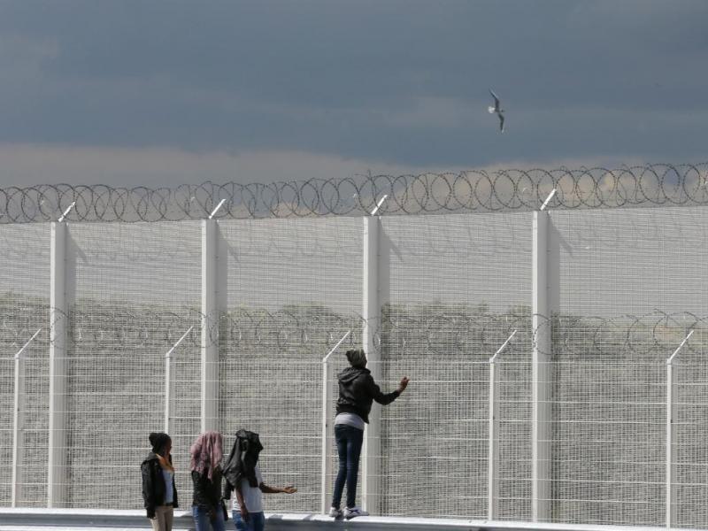 Calais: em busca da terra prometida [Reuters]