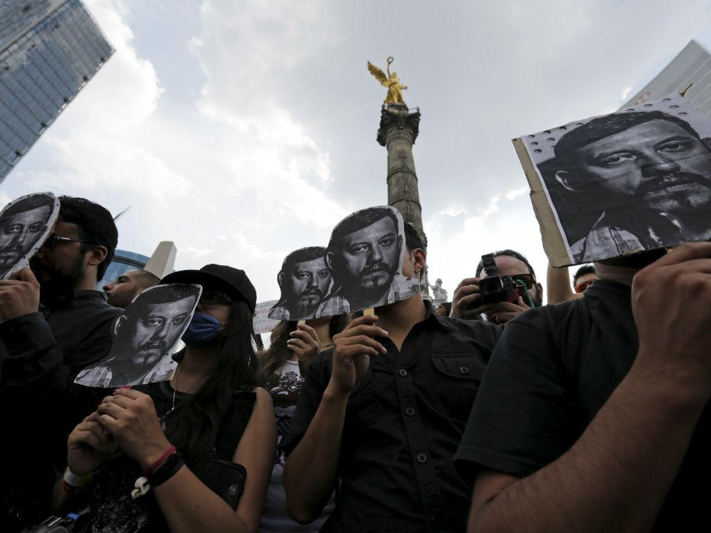 Jornalista morto no México (REUTERS)