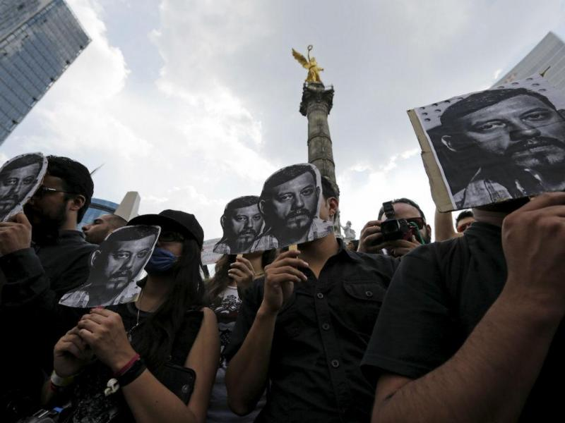 Jornalista morto no México (REUTERS)