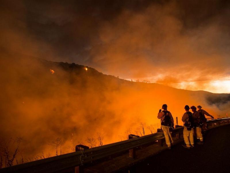 Incêndios na Califórnia (Lusa/EPA)