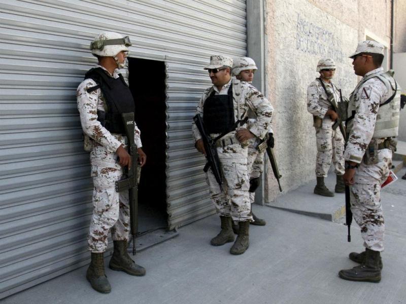 Polícia mexicana encontra túnel subterrâneo [Fonte: Reuters]