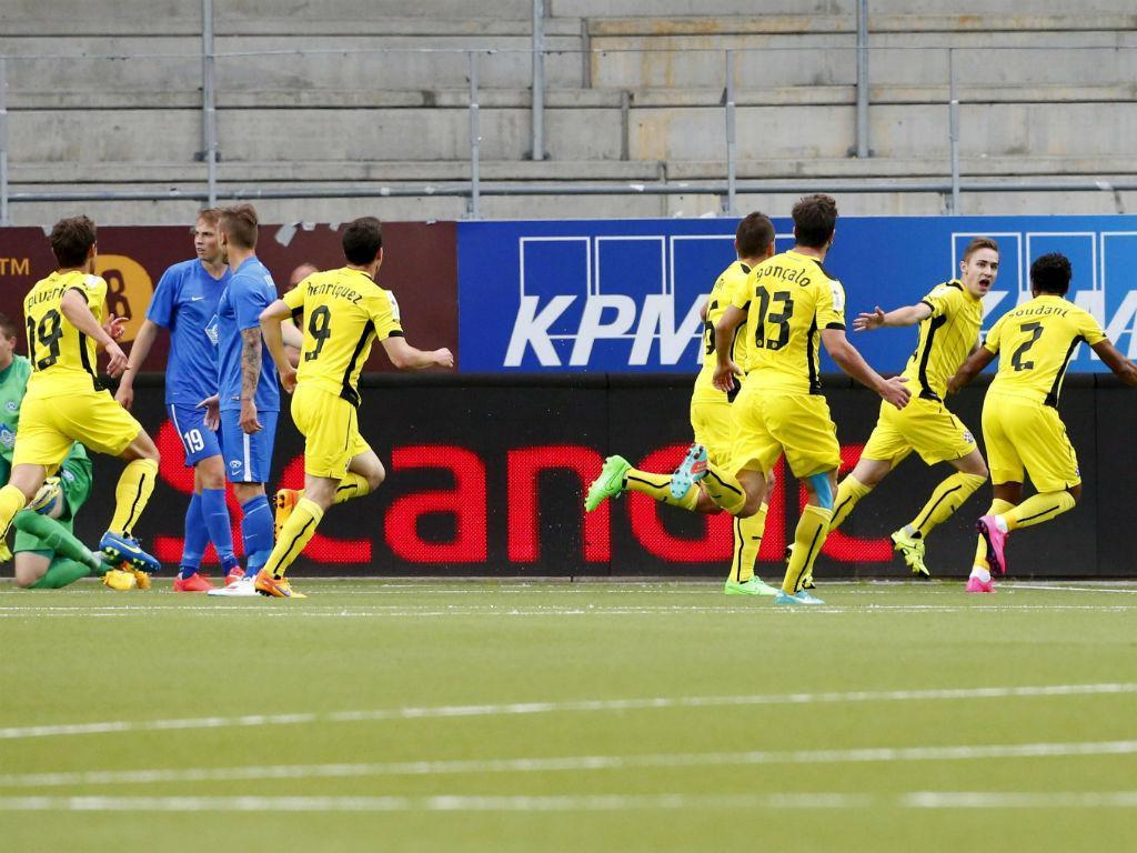 Molde-Dinamo Zagreb (Norsk Telegrambyra/Reuters)