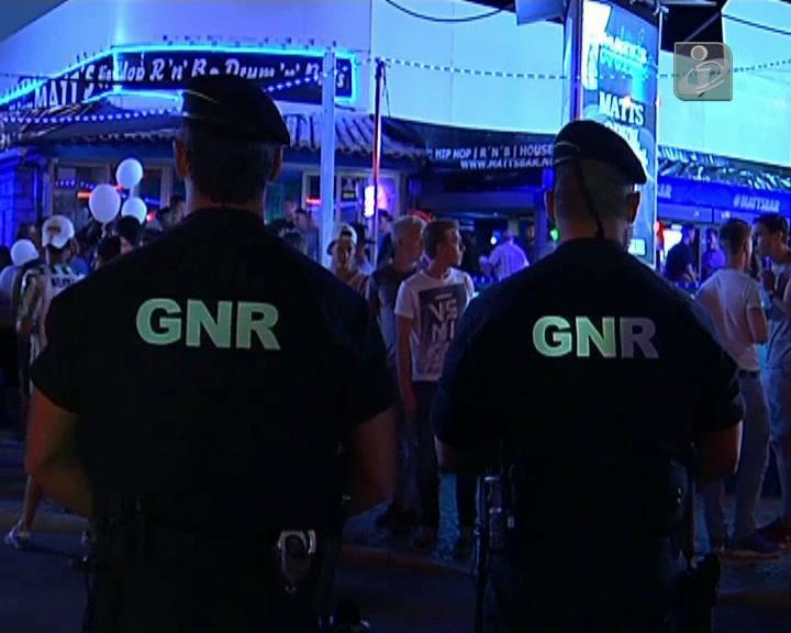 Militares da GNR agredidos em Albufeira