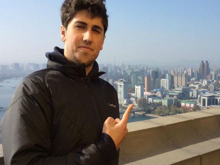Alessandro Ford foi o primeiro ocidental a estudar na Coreia do Norte