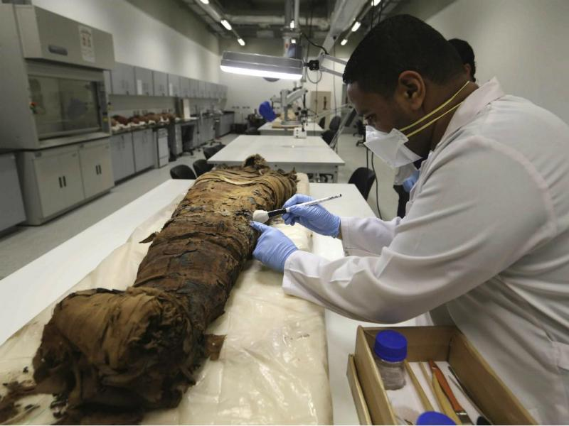 Múmia [Reuters]