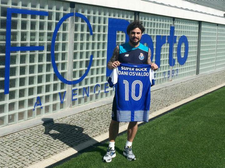 Osvaldo no FC Porto (Foto Twitter FC Porto)
