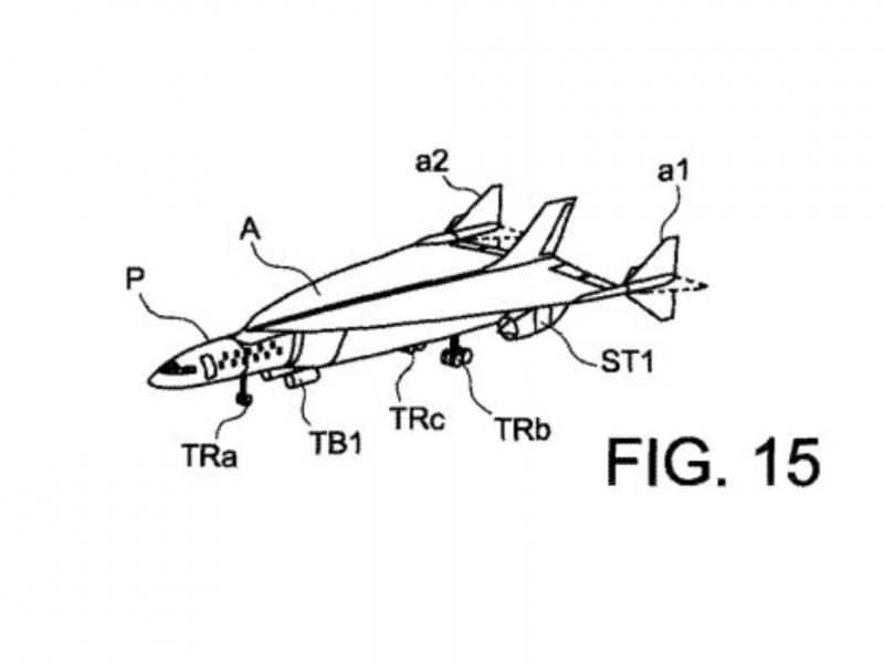 Projeto de avião ultrarrápido (United States Patent and Trademark Office)
