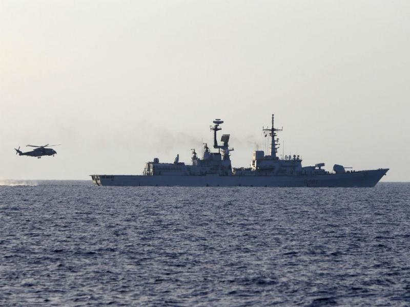Naufrágio na costa da Líbia [Foto: Reuters]