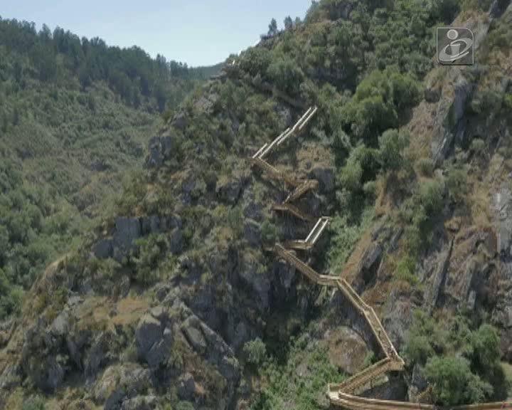 Passadiços do Paiva duplicam taxas de ocupação turística em Arouca