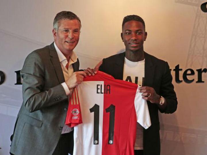 Elia no Feyenoord (Foto Twitter Feyenoord)
