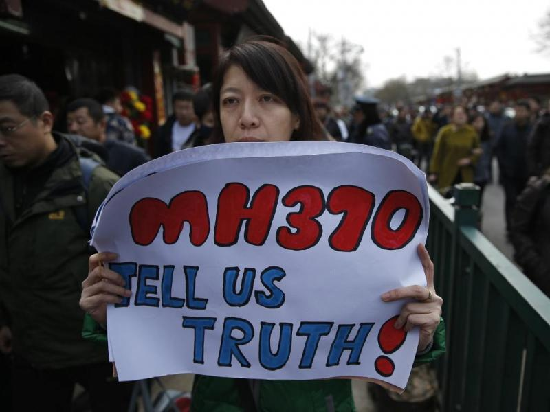 MH370: familiares em