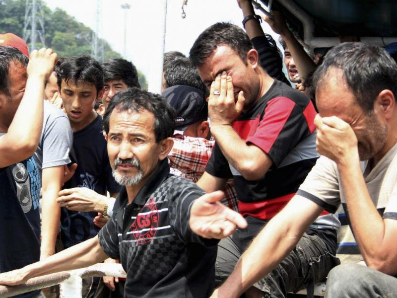 Migrantes  (REUTERS)