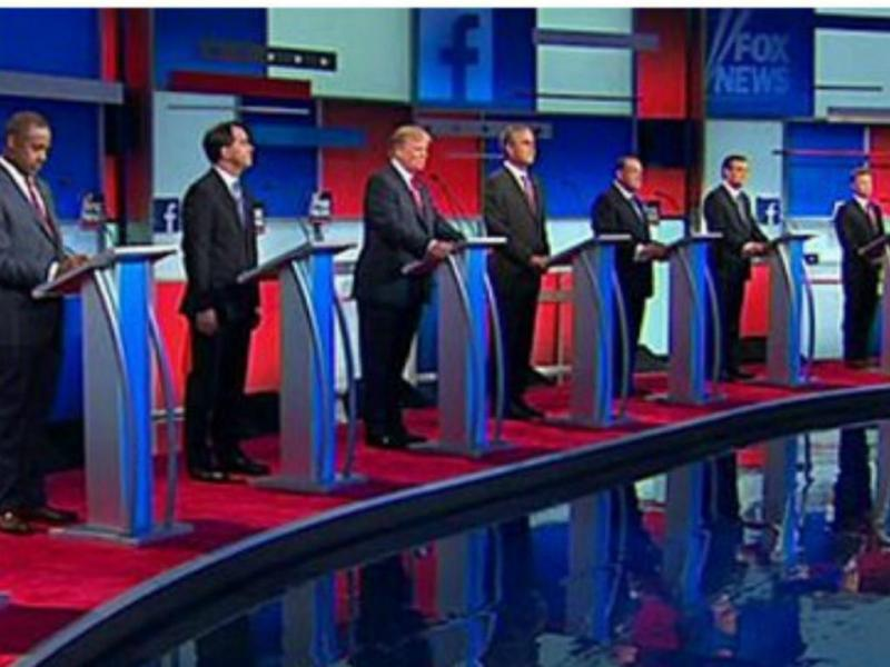 Fox debate republicano