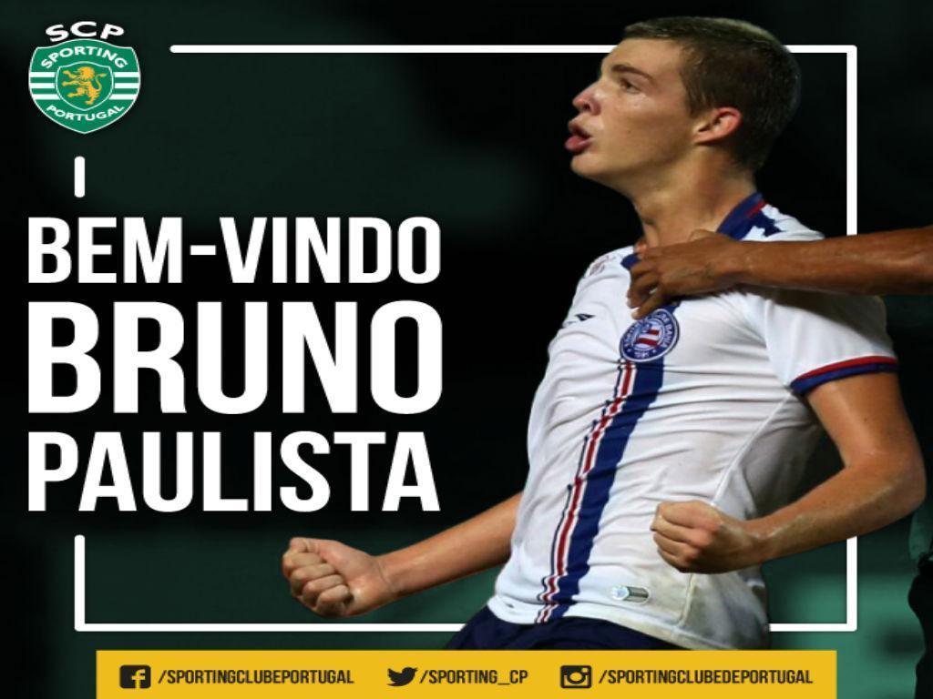 Sporting contrata Bruno Paulista