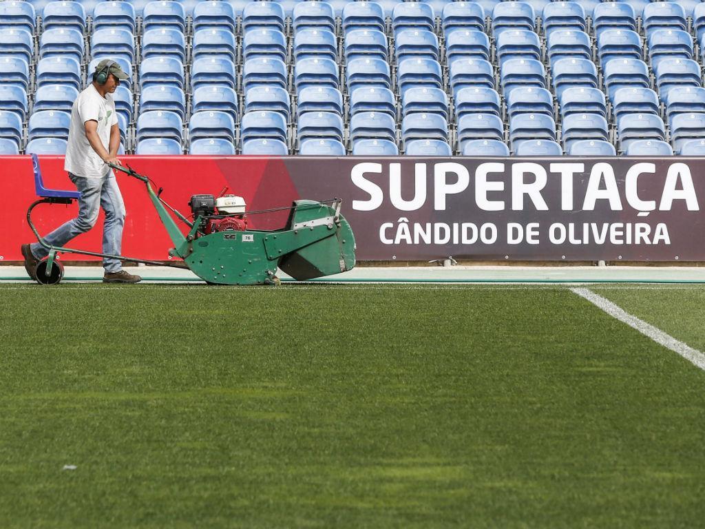 Bastidores da supertaça (fotos FPF/Diogo Pinto)