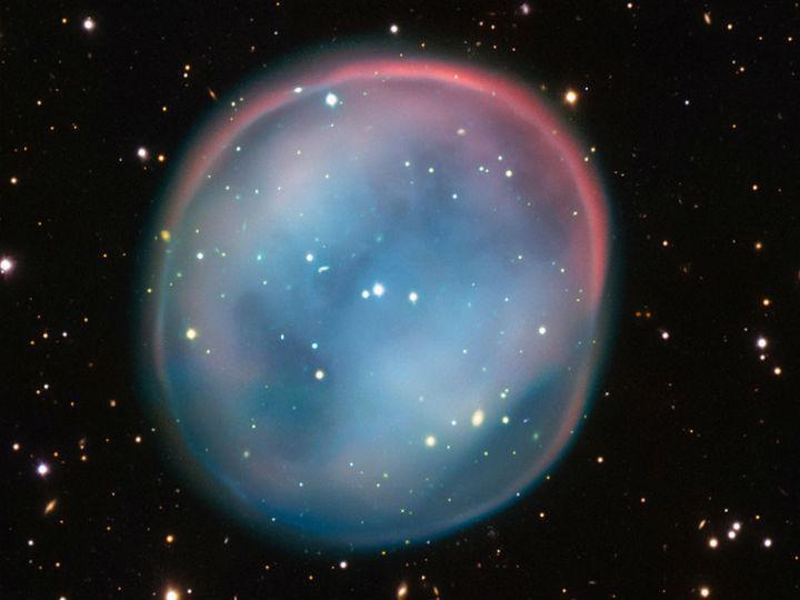 Nebulosa foi captada por telescópio do Observatório do Sul Europeu [Foto: ESO]
