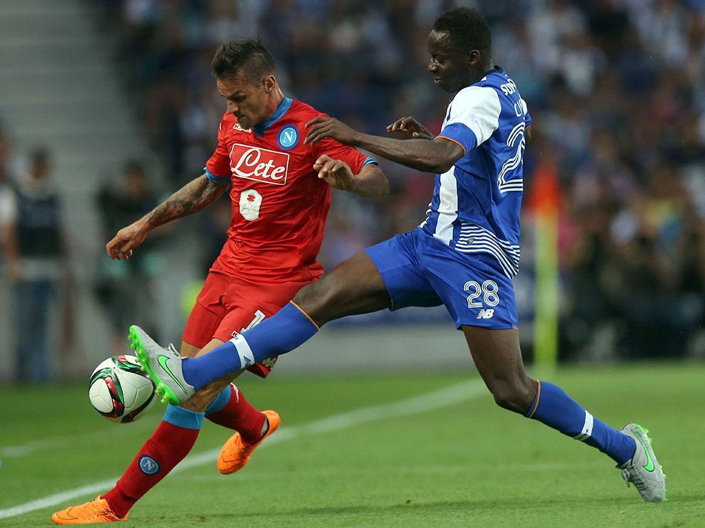 FC Porto-Nápoles (LUSA/ Estela Silva)
