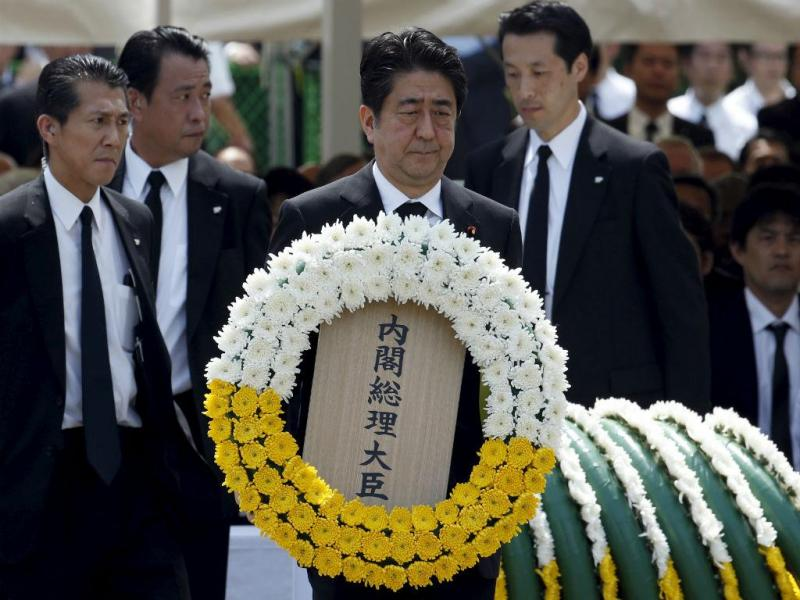 Nagasaki assinala os 70 anos do ataque nuclear [Foto: Reuters]