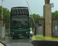 A saída do Sporting para o Estádio do Algarve