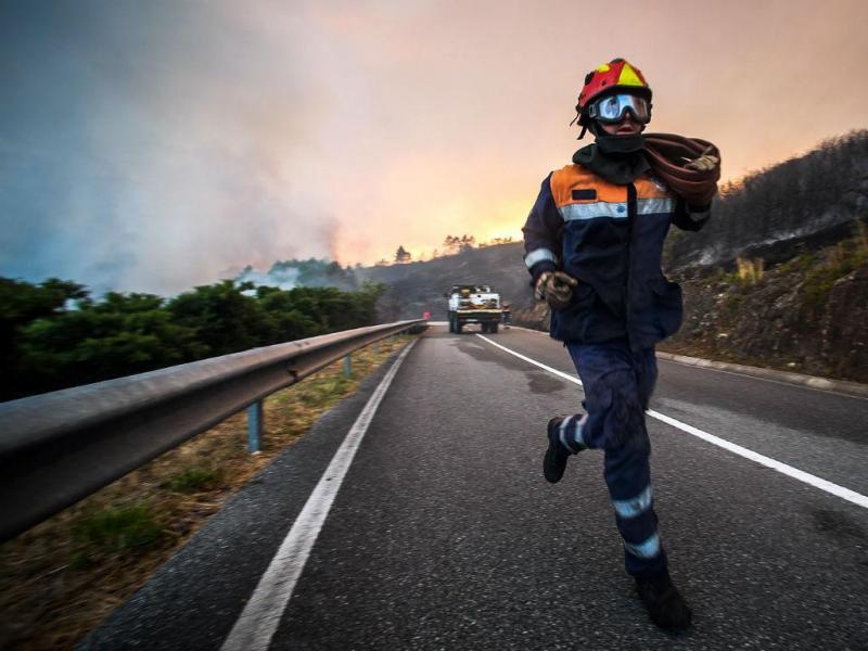 Incêndio em Vila Nova de Cerveira [Foto: Lusa]