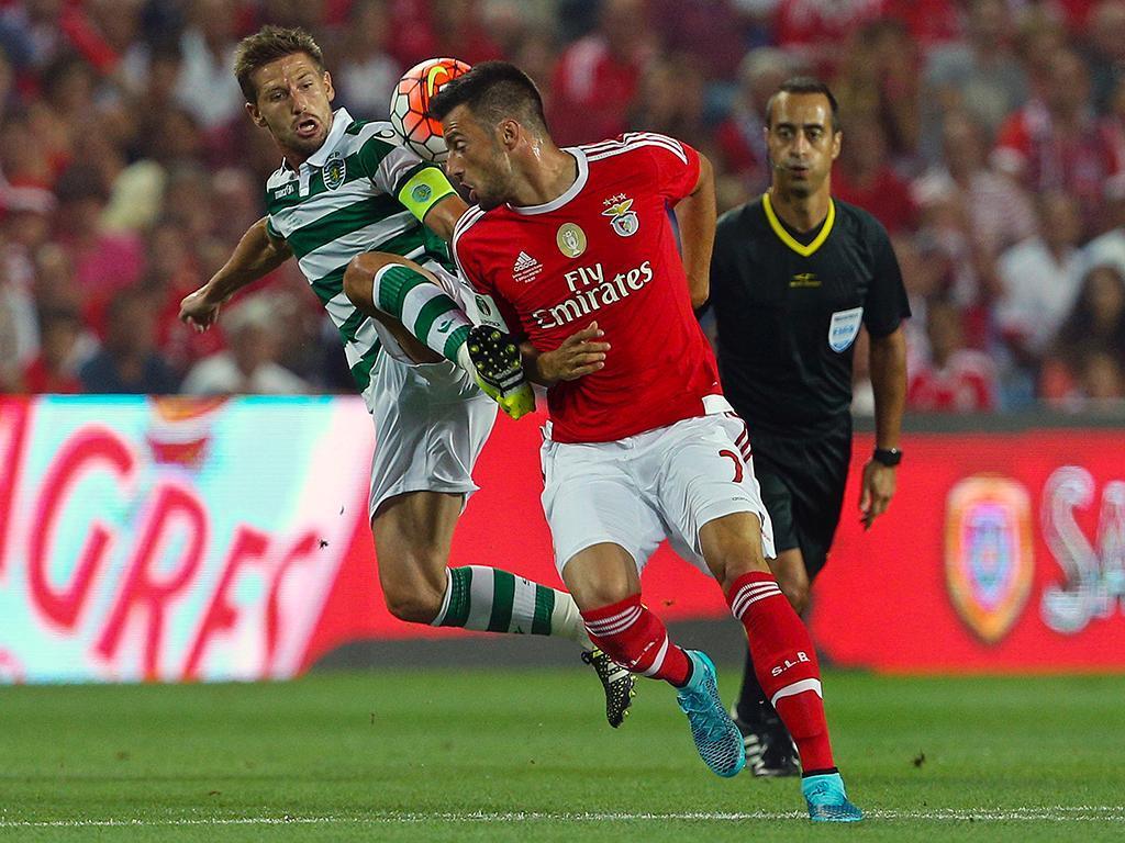 Benfica-Sporting (LUSA/ José Sena Goulão)