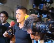 Raúl Jimenez chegou a Lisboa