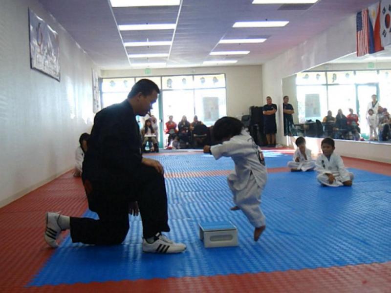 Pequeno prodígio em taekwondo conquista a internet (Reprodução YouTube)
